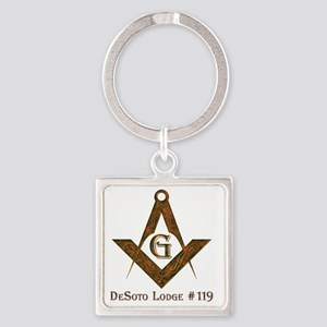 desoto119 Square Keychain