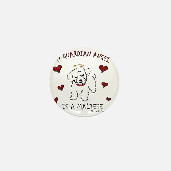 2-Maltese Mini Button