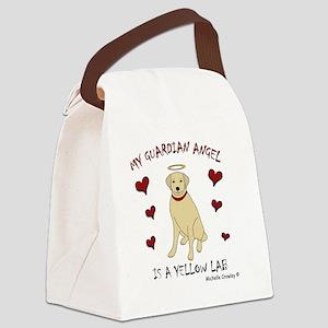 3-YellowLab Canvas Lunch Bag