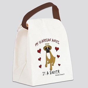 2-Boxer Canvas Lunch Bag