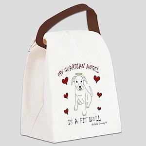 PitBullWt Canvas Lunch Bag