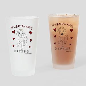 PitBullWt Drinking Glass