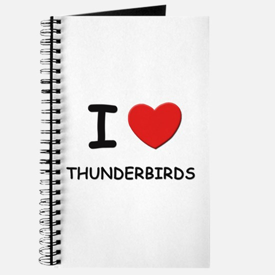 I love thunderbirds Journal