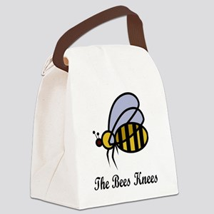 The Bees Knees copy Canvas Lunch Bag