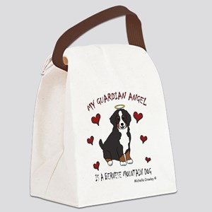BerneseMtnDog Canvas Lunch Bag