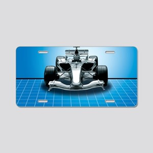 Ultimate Speed Machine - F1 Aluminum License Plate