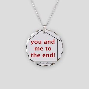 shirt02 Necklace Circle Charm