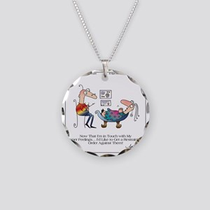 INNER FEELINGS by April McCa Necklace Circle Charm