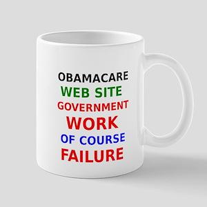 Obamacare Government Web Site Of Course Failure Mu
