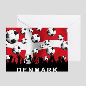 Denmark Football5 Greeting Card