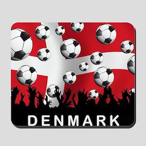 Denmark Football5 Mousepad