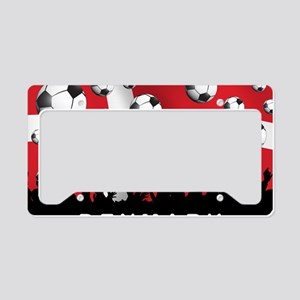 Denmark Football5 License Plate Holder