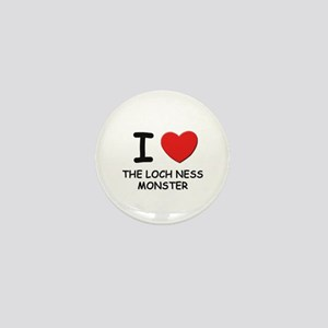I love the loch ness monster Mini Button
