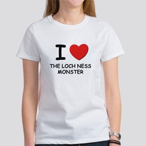 I love the loch ness monster Women's T-Shirt