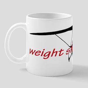 weight shift trike headon Mug