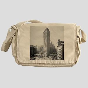 Flatiron Building Messenger Bag