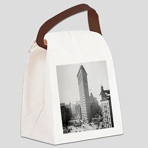 Flatiron Building Canvas Lunch Bag