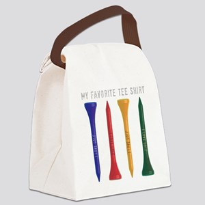 My Favorite tee Shirt Canvas Lunch Bag