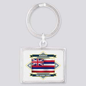 Hawaii diamond Landscape Keychain