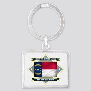 North Carolina diamond Landscape Keychain