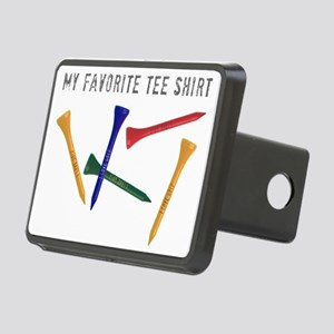 My Favorite Tee Shirt Rectangular Hitch Cover