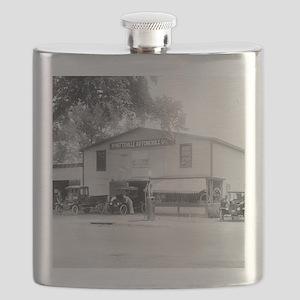 Hyattsville Auto Company Flask