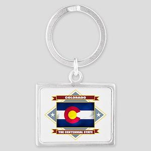Colorado diamond Landscape Keychain