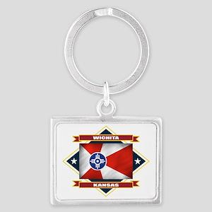 Wichita diamond Landscape Keychain