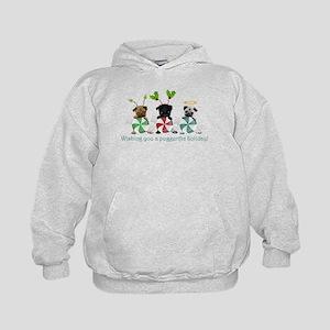 Have A Puggerific Holiday Kids Hoodie