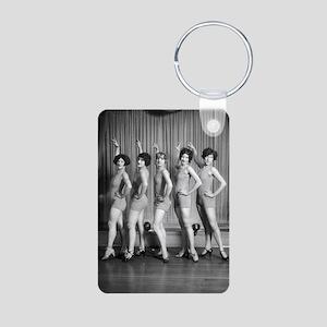 Chorus Girls Aluminum Photo Keychain