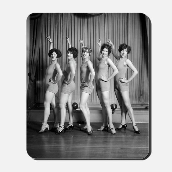 Chorus Girls Mousepad