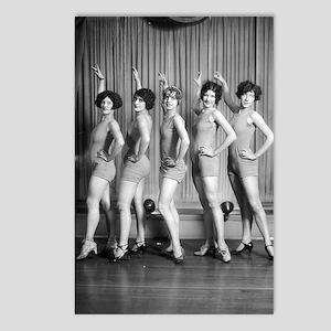 Chorus Girls Postcards (Package of 8)