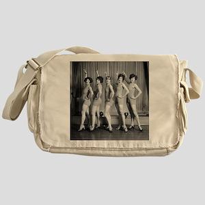 Chorus Girls Messenger Bag