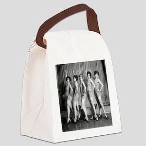 Chorus Girls Canvas Lunch Bag