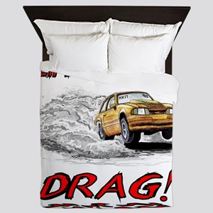4000x4000Faded Mustang(Lifes A Real Dr Queen Duvet