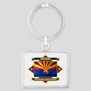 Arizona diamond Landscape Keychain