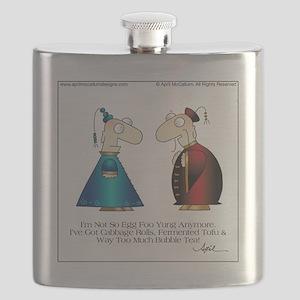 BUBBLE TEA by April McCallum Flask