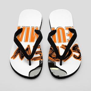 Screw Leukemia Flip Flops