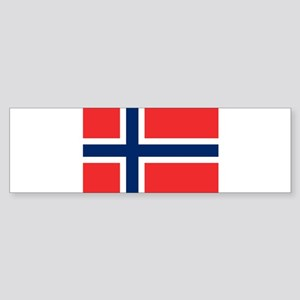 Norway flag Bumper Sticker