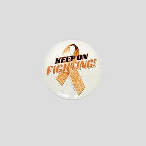 Keep on Fighting Leukemia Mini Button