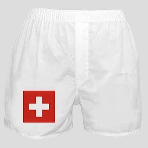 Switzerland Boxer Shorts