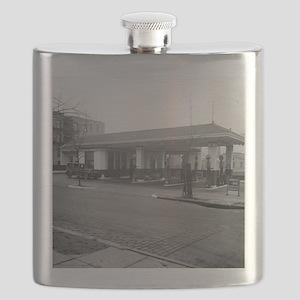 Amoco Gas Station Flask