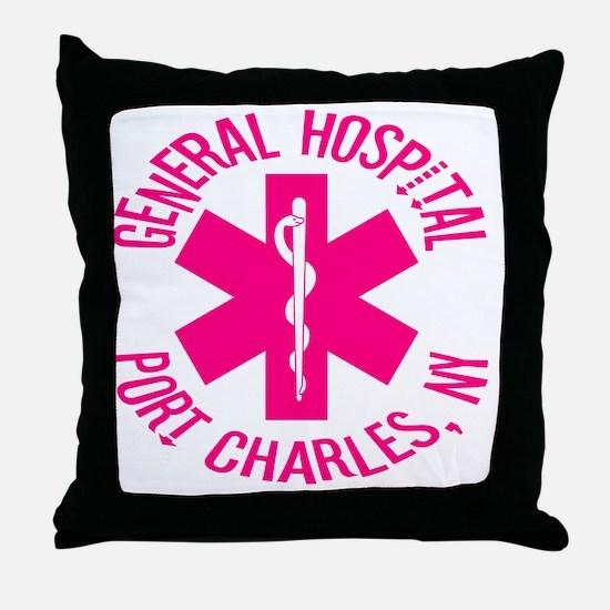 emt logo Throw Pillow