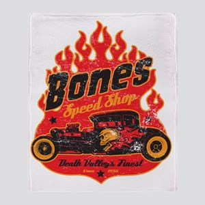 BonespeedShop Throw Blanket