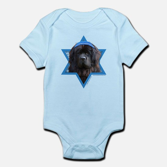 Hanukkah Star of David - Newfie Infant Bodysuit