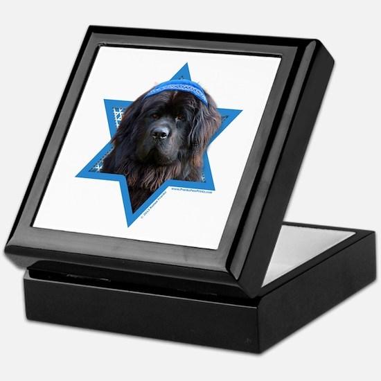 Hanukkah Star of David - Newfie Keepsake Box