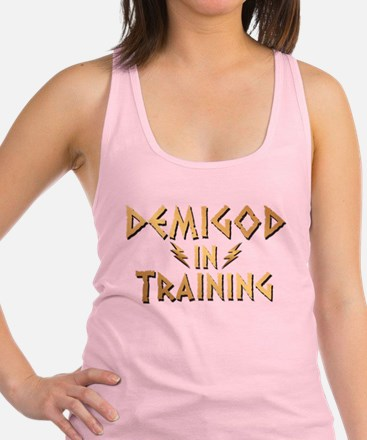DEMIGOD in TRAINING Racerback Tank Top