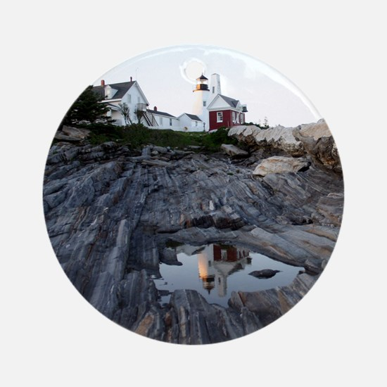 Pemaquid Reflection Round Ornament
