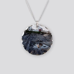Pemaquid Reflection Necklace Circle Charm