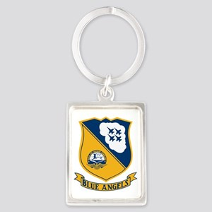 Blue Angels Insignia Portrait Keychain